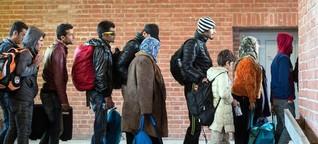 Ob Bayern oder Bremen ist für Flüchtlinge ein großer Unterschied