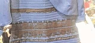 #Dressgate: Darum sehen die einen das Kleid schwarz-blau, die anderen weiß-gold