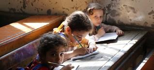 Syrien: In Aleppo gibt es noch Schulen – im Untergrund