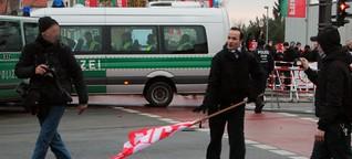 Berlin: Drohungen, Überfremdungsängste und Bürgerkriegsszenarien - Störungsmelder