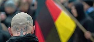 Neonazis demonstrieren in Zossen und Kloster Lehnin