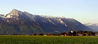 Gebirgszug Unterberg   Gibt es in Österreich etwa Zeitlöcher?