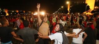 Präsidentin von Brasilien vorläufig suspendiert