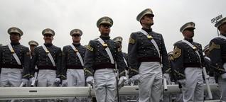 US-Militär: Federn in die Fresse