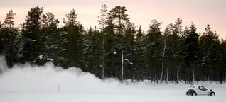 Mal -35 Grade sein lassen. Hej, Schwedisch Lappland!