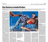 """""""Die Balance wiederfinden"""" Reportage für Taz"""