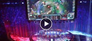 So laut feiert Berlin die League of Legends WM