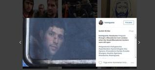 Hot Migrants auf Instagram: Diese Fotos sind kein Spaß