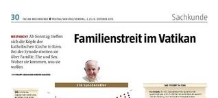 Familienstreit im Vatikan