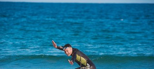 Surfschule in Nordkorea: Kim Jong Fun