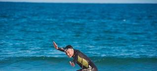 Surfschule in Nordkorea: Kim Jong Fun