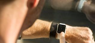 Apple Watch im Einsatz: Ganz schön smart