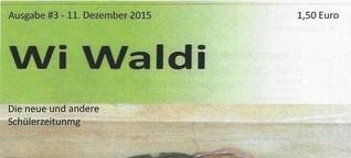 Wi Waldi #3, Schülerzeitung der Waldorfgschule Wiesbaden