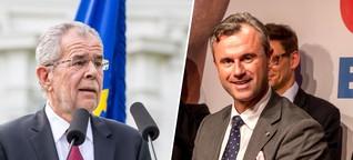 Bundespräsidentenwahl in Österreich: Sudern erreicht Höhepunkt