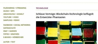Smart Contracts: schlaue Blockchain-Verträge
