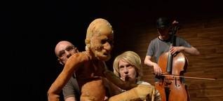 """Theater Salz+Pfeffer Nürnberg: """"Frankenstein"""" - Fidena - Portal für Figurentheater und Puppenspielkunst"""