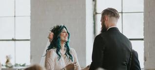 Ärzte gaben sie auf, doch sie trainierte heimlich: Gelähmte Braut überrascht alle und schreitet zum Altar