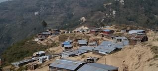 Nepal ein Jahr nach dem Erdbeben - Vom Leben im Provisorium