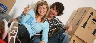 Erste Wohnung: Was Paare tun können, damit es beim Zusammenziehen nicht kracht