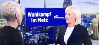 Social Media im Berliner Wahlkampf - Unsere Analyse Für die RBB abendschau