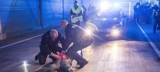 Polizeigewalt in Deutschland: Mit dem Gesicht im Dreck