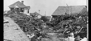 Der schlimmste Hurrikan der US-Geschichte