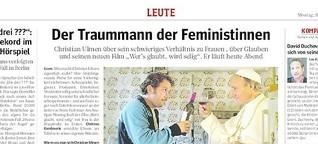 Der Traummann der Feministinnen - WAZ