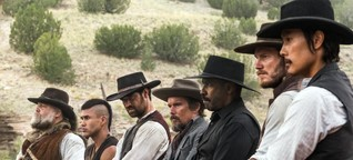 """The Magnificent Seven"": Cowboys und Wachsfiguren"