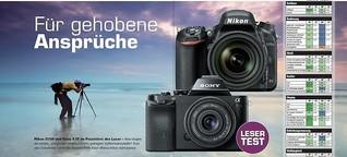 Lesertest Nikon D750/Sony A7 – Colorfoto 10/2016