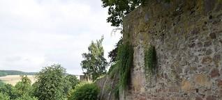 In Blomberg gibt es noch eine Stadtmauer