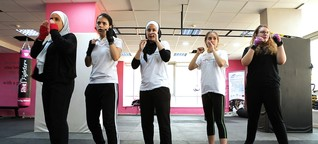 The First Women's Self Defense Studio in the Middle East