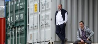 Die Alternative zu teuren Wohnungen - Leben im Container
