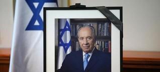 Was bleibt von Schimon Peres?