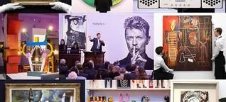 Nachlass von David Bowie - Gesamtergebnis 4 Millionen Euro