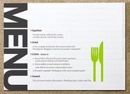 Speisekarten sind wichtig im Restaurantmarketing