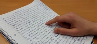 Schreiben, statt sich beschreiben zu lassen: Ein Workshop mit Geflüchteten