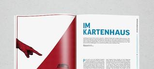 Im Kartenhaus (Pressefreiheit in Ungarn und Polen)