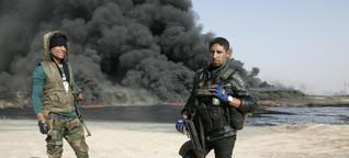Exklusiv-Fotos: Kampf um Mossul aus Perspektive der Soldaten