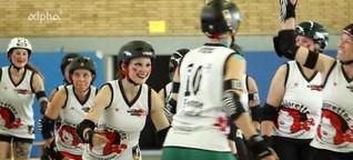 Roller Derby - Vollkontakt auf Rollschuhen - Campus Magazin - ARD-alpha