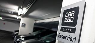 Carsharing: Ich habe 1000 Autos