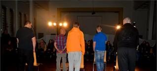 Drogenprävention: Häftlinge der JVA Torgau spielen für Schüler Theater