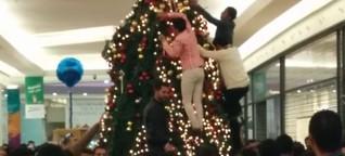 Muslime stürmen Weihnachtsbaum im AEZ? Diese rechte Hetze ist völliger Quatsch