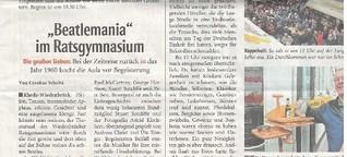 """Beatlemania"" im Ratsgynasium"