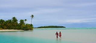 Südsee: Traumschiff auf den Cookinseln