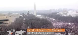 Massenproteste gegen Trump