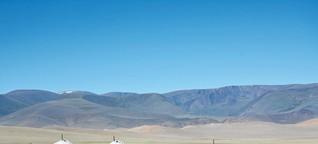 Trekken in der Mongolei: Wo Tiere den Takt angeben