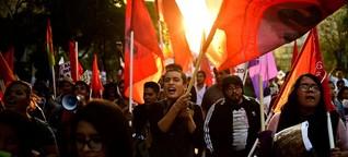 Proteste in Mexiko: Wut auf die Eliten, Angst vor der Zukunft - SPIEGEL ONLINE - Politik