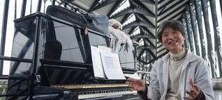 """Künstlerin lebt im Flughafen Lyon - """"Ich fühle mich völlig zu Hause"""""""