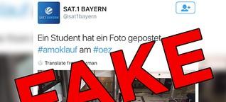Diese Fotos der Schießerei in München sind fake
