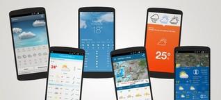 Wetter-Vorhersage - Diese Wetter-App lässt Sie nicht im Regen stehen